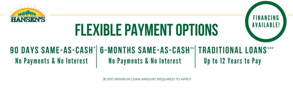 Tree Service Financing